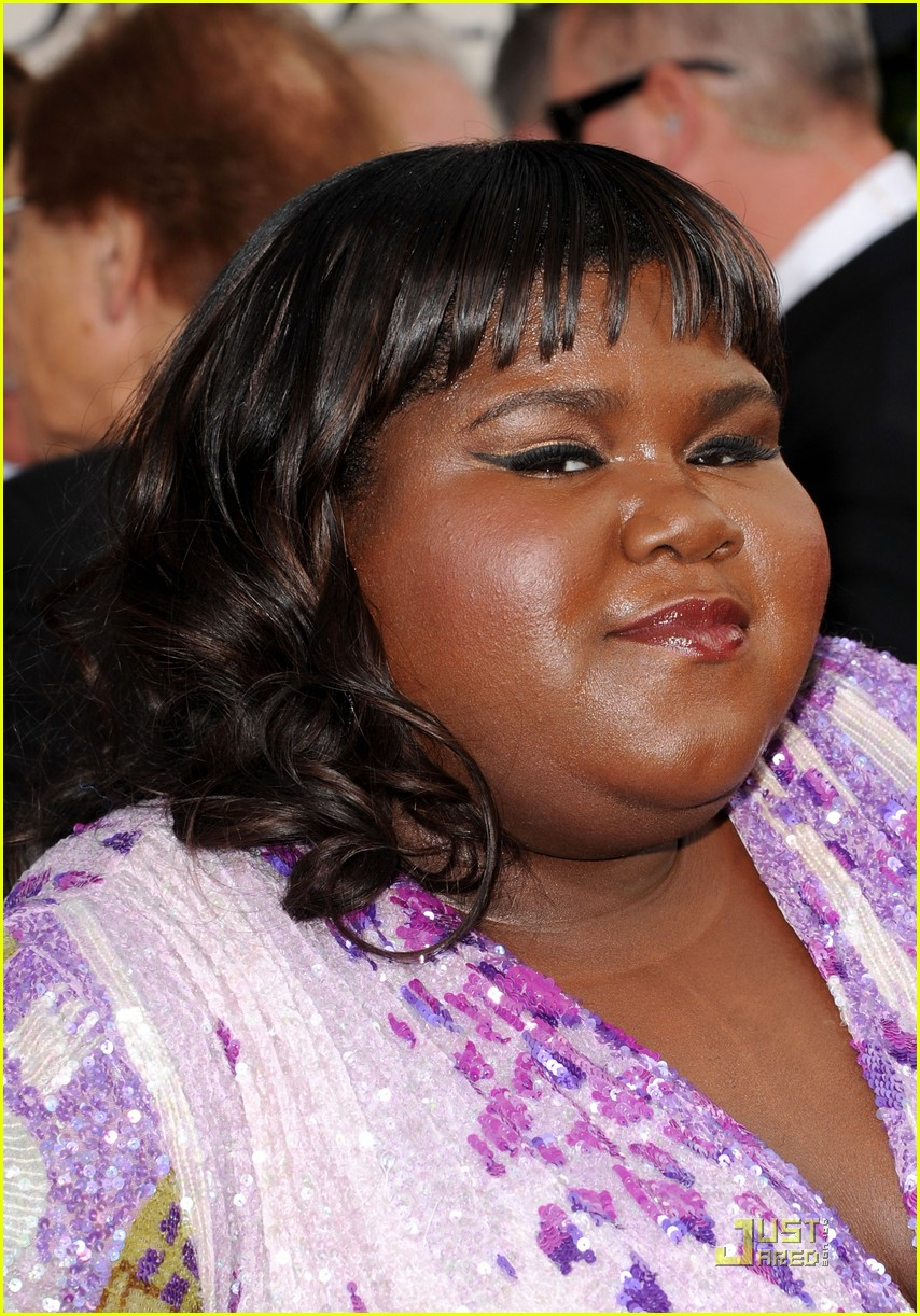 gabourey sidibe golden globes 2011 01