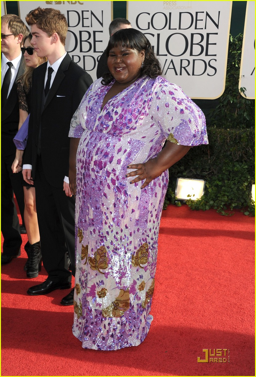 gabourey sidibe golden globes 2011 02