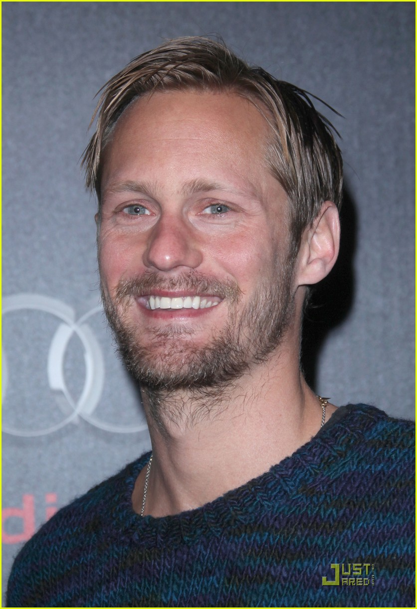 alexander skarsgard audi golden globe party 032509759