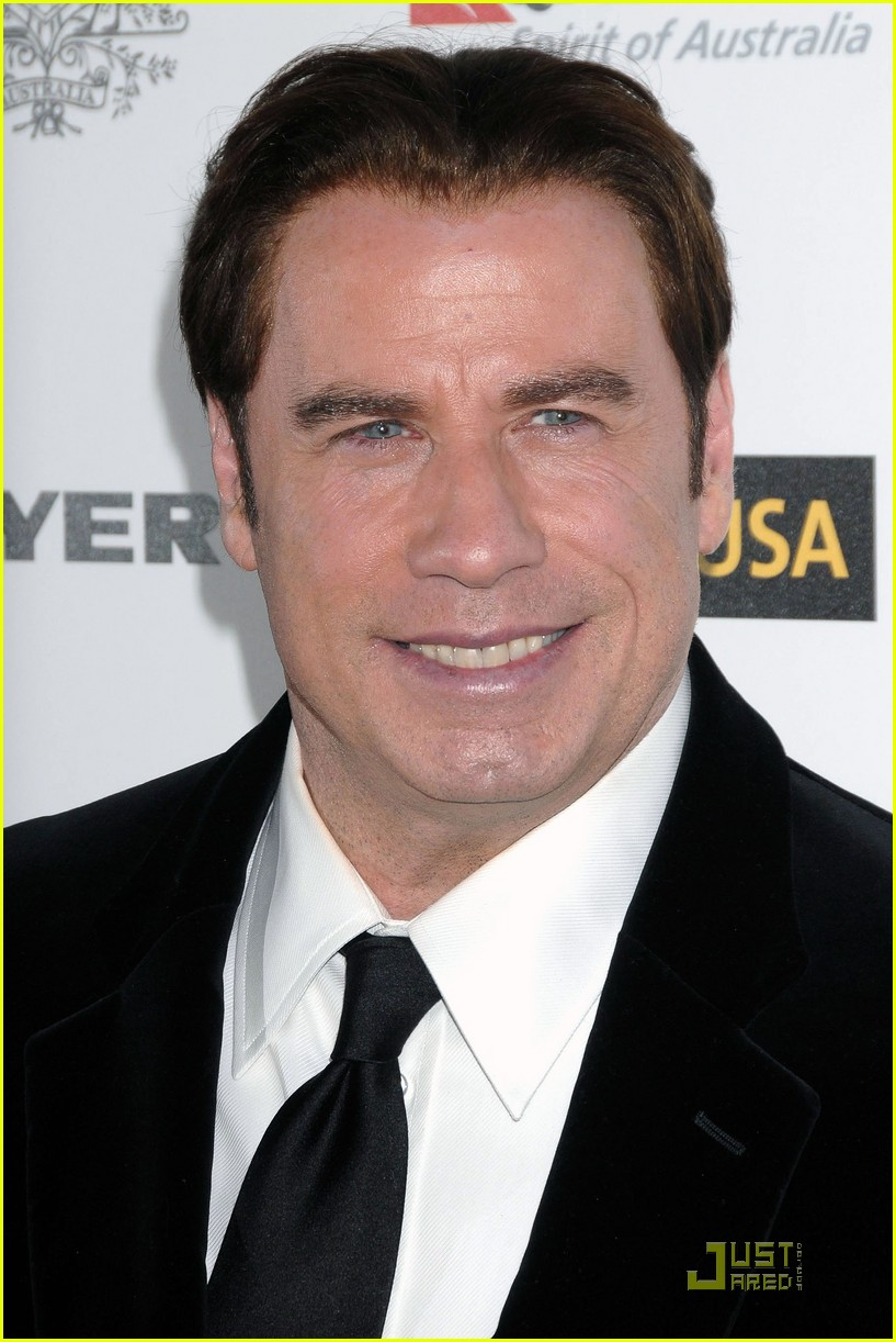john travolta kelly preston gday gala 03