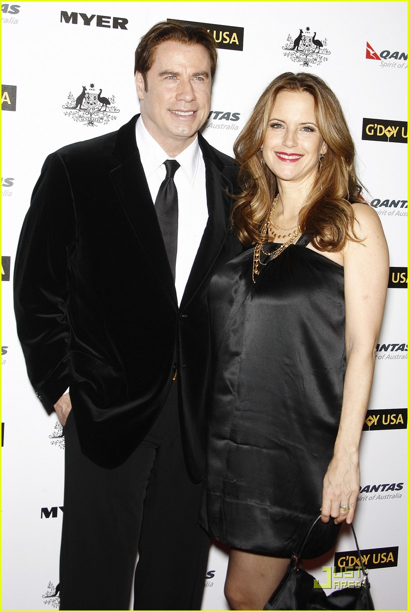 john travolta kelly preston gday gala 04