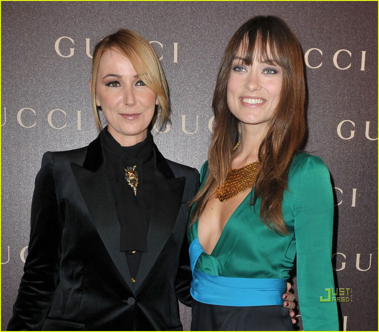 olivia wilde gucci dinner 01