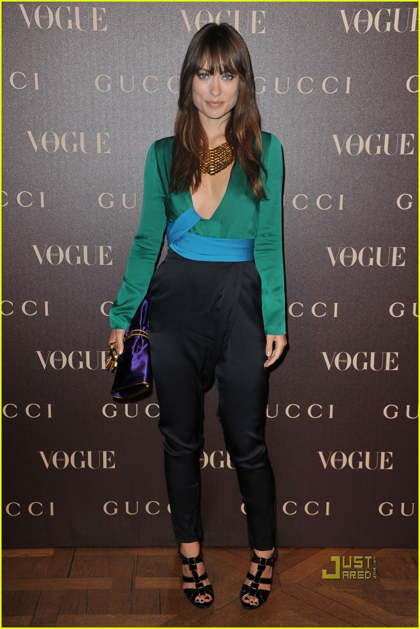 olivia wilde gucci dinner 02