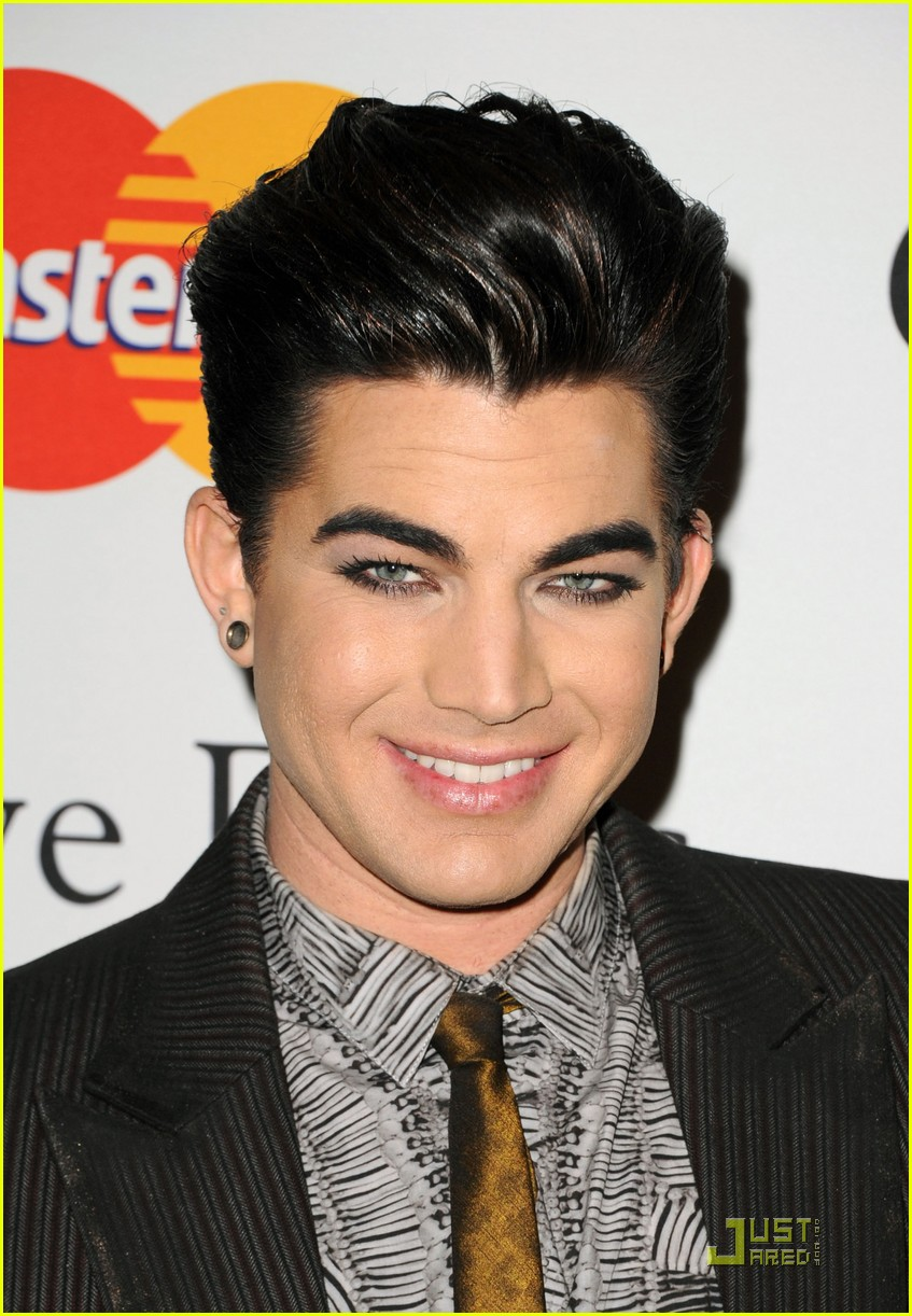 adam lambertpre grammy gala salute to industry icons 05