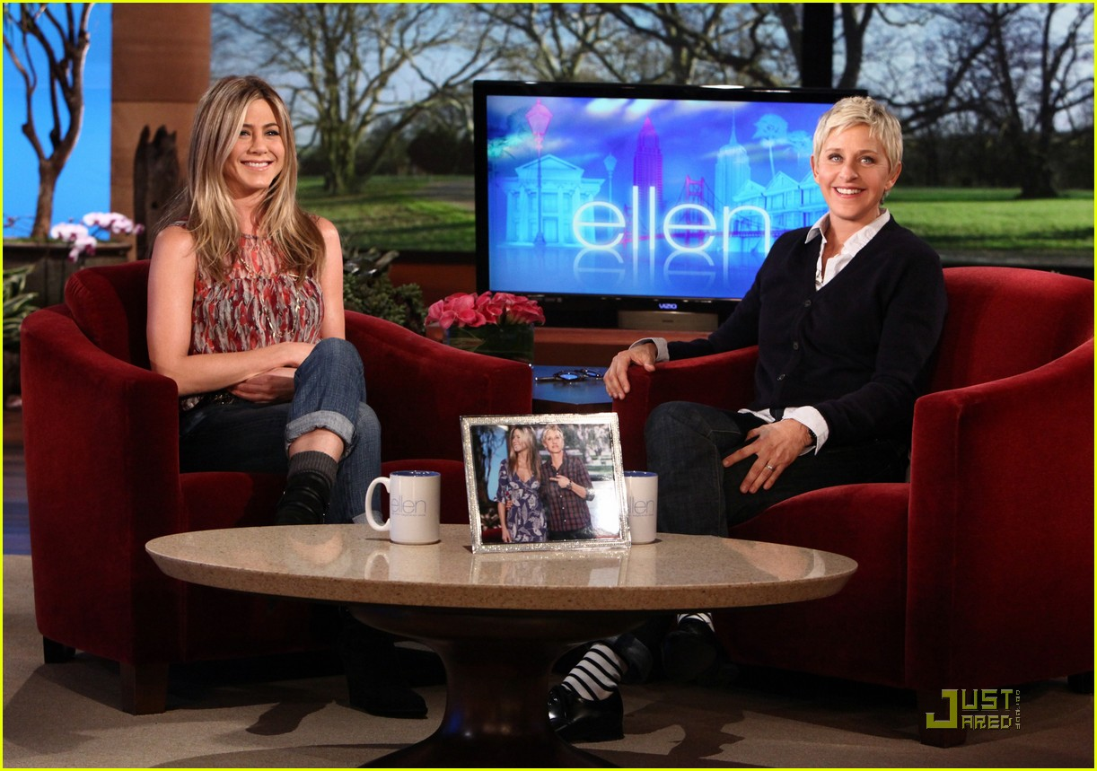 Jennifer aniston stop with the adoption rumors photo 2516188 ellen degeneres jennifer - Ellen show videos ...
