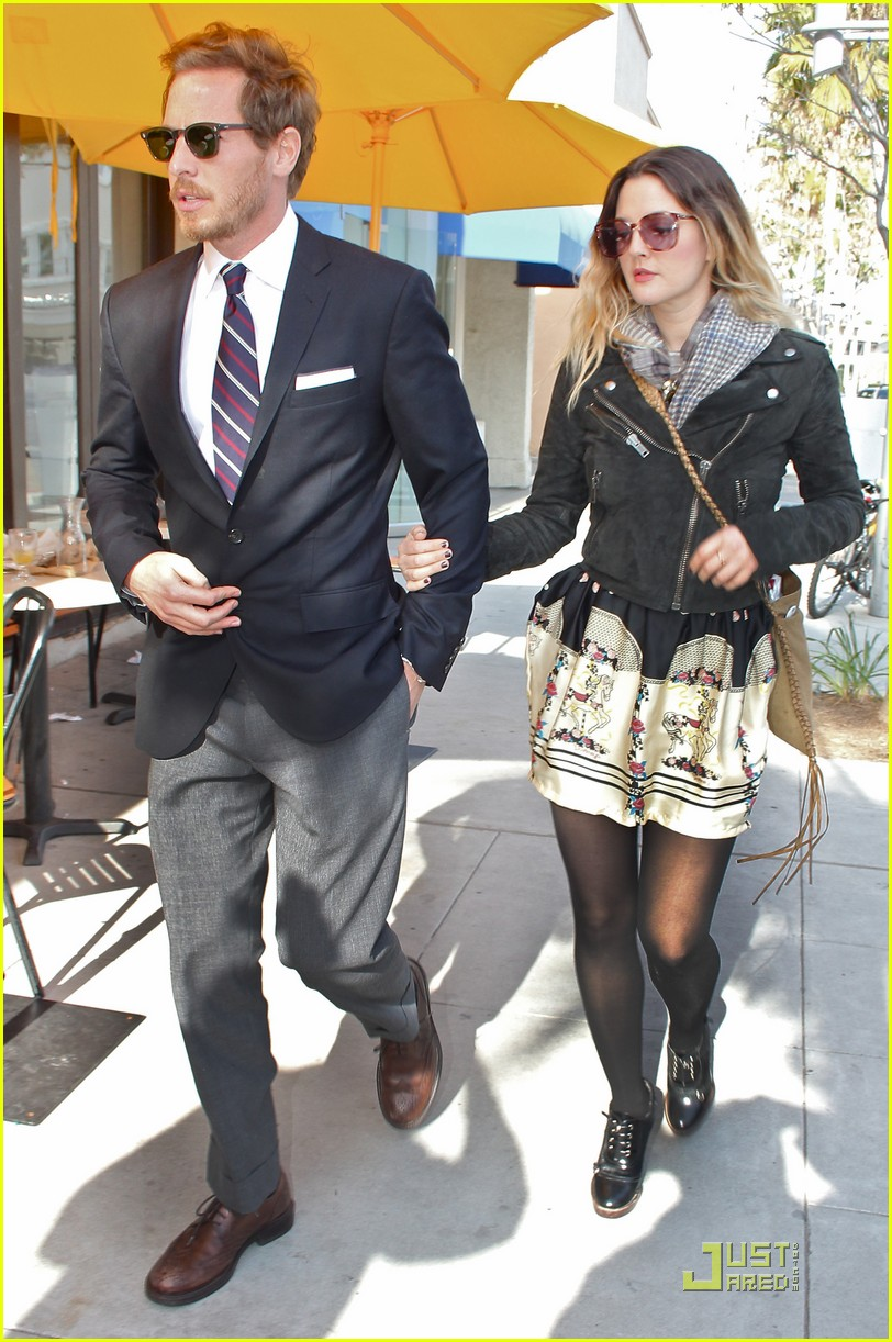 drew barrymore will kopelman e baldi lunch 03