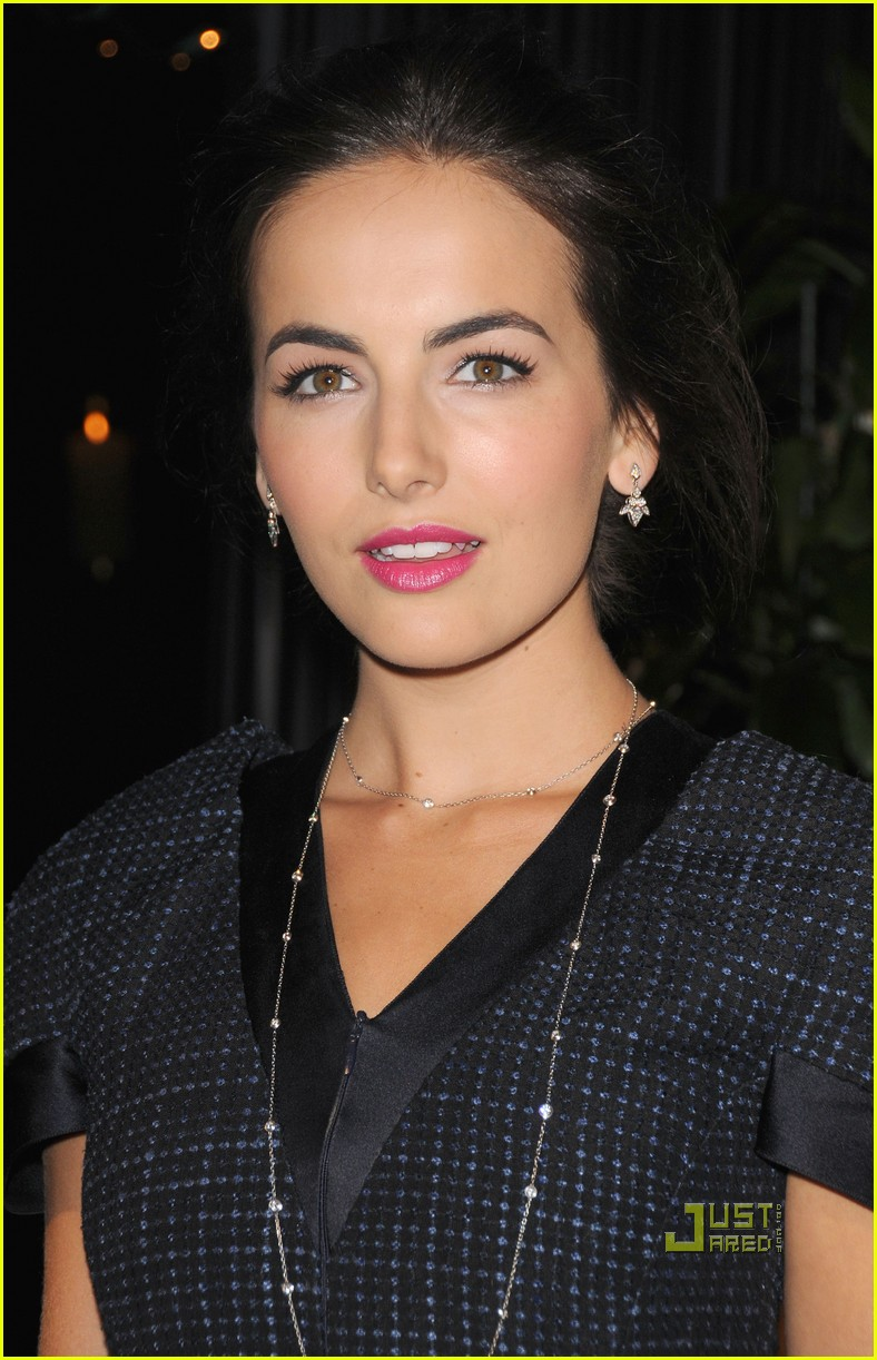 camilla belle chanel charles finch preoscar dinner 08