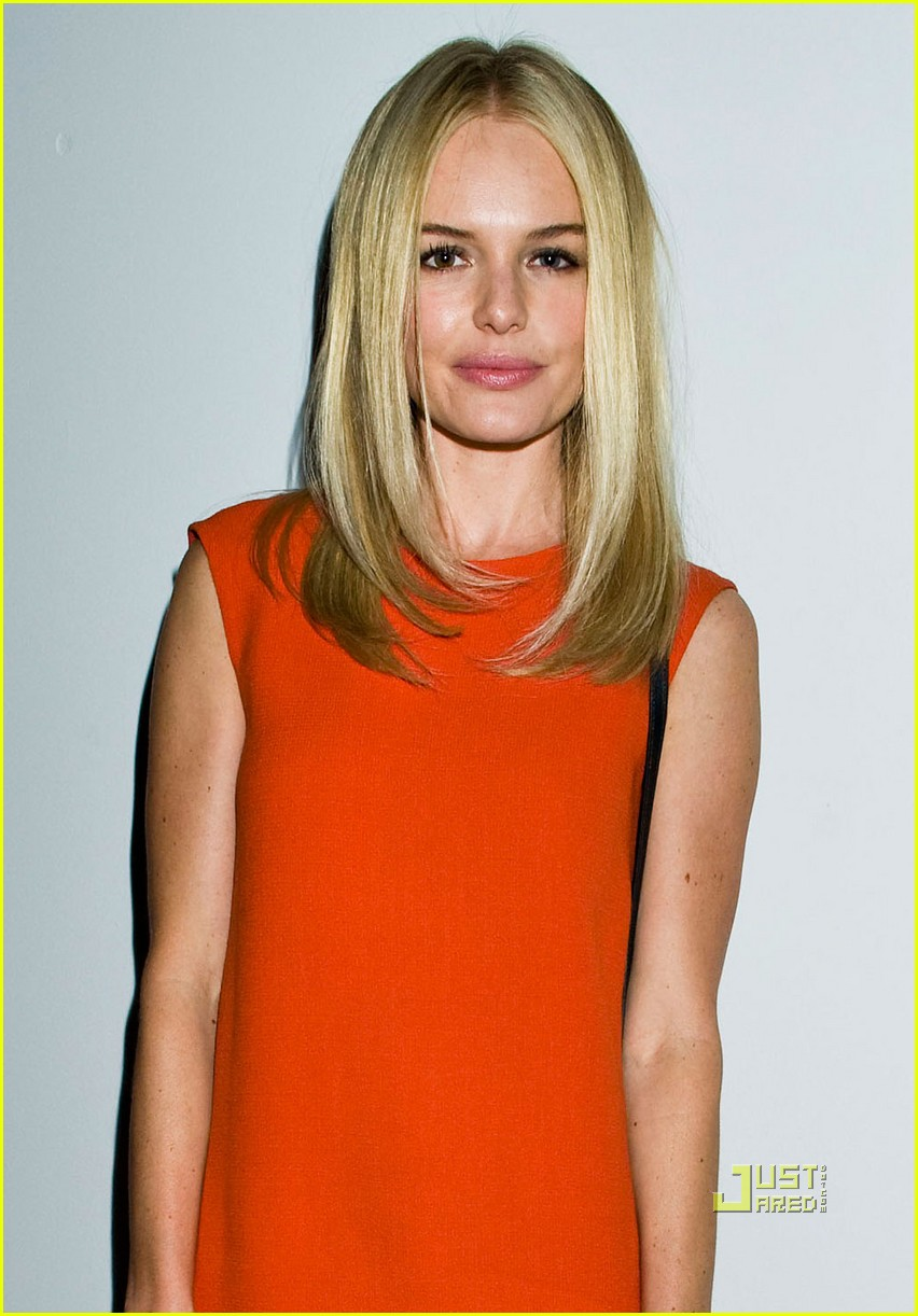 Kate Bosworth: Front Row for Calvin Klein Show! Kate Bosworth