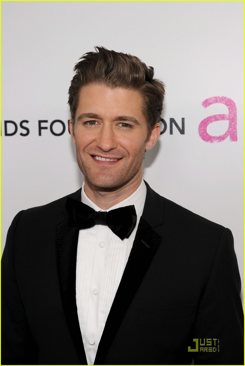 chace crawford matthew morrison oscars 2011 052523853