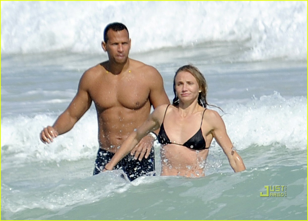 cameron diaz alex rodriguez bikini shirtless 06