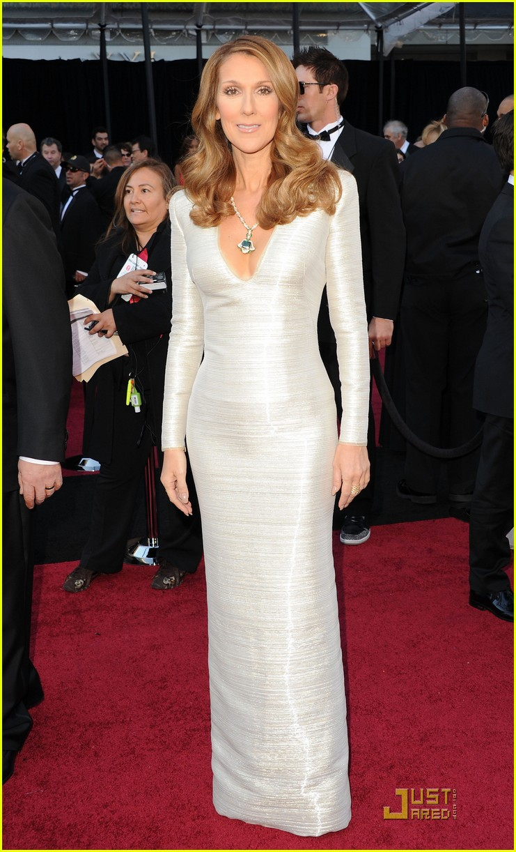 Celine Dion: Oscars 2011 Red Carpet with Rene Angelil: Photo 2523704 ...