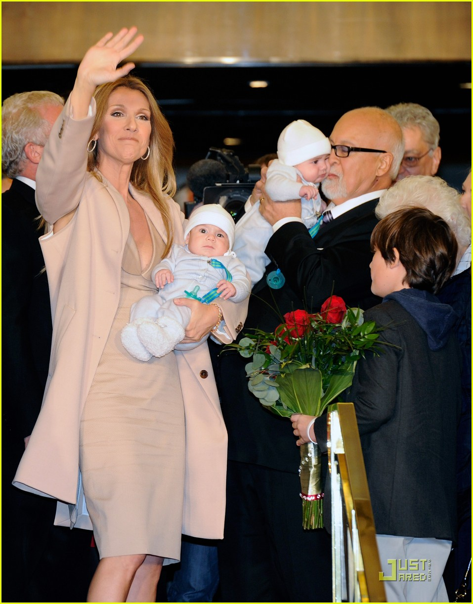 celine dion and family return to caesars palace 02