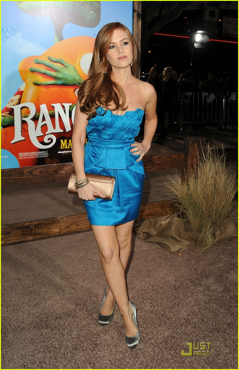 isla fisher johnny depp rango premiere 02