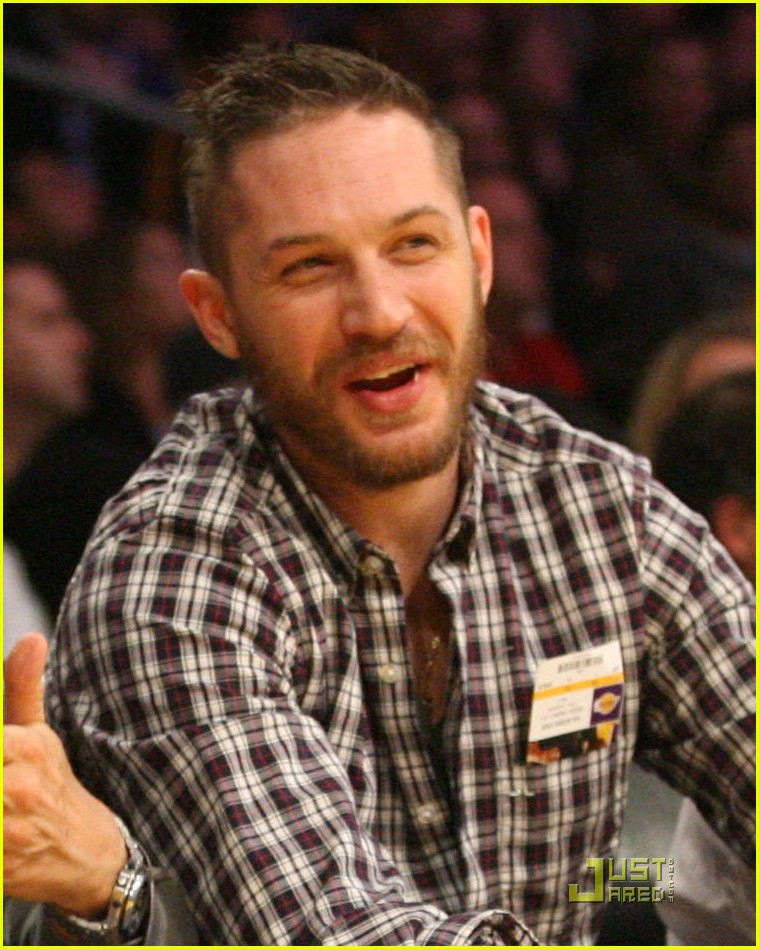 tom hardy lakers game 022516751
