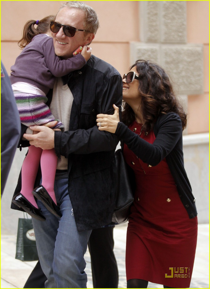 salma hayek laugh lunch 082521359