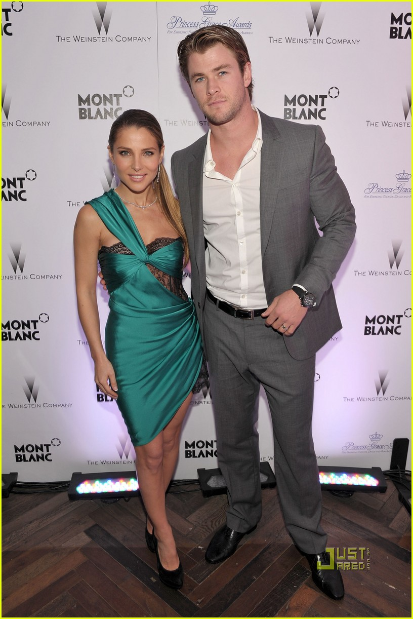 chris hemsworth elsa pataky weinstein party 02
