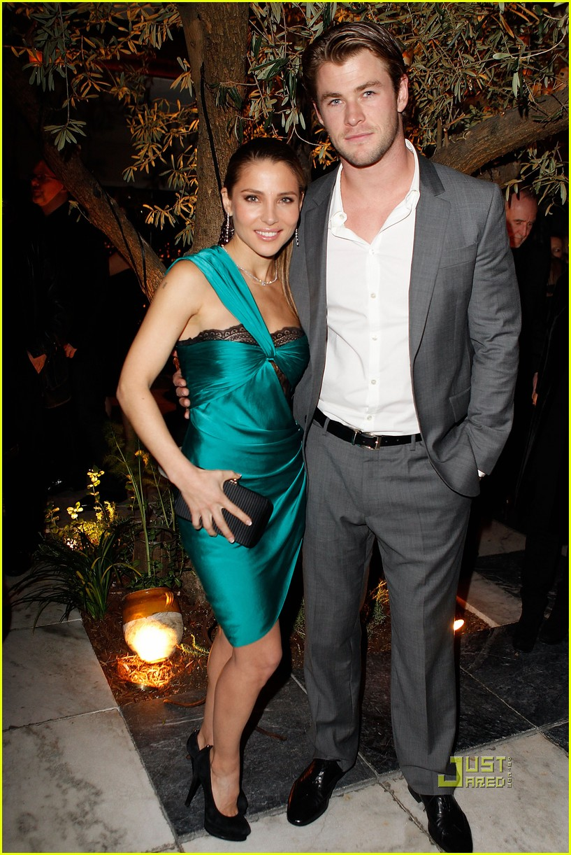 chris hemsworth elsa pataky weinstein party 03