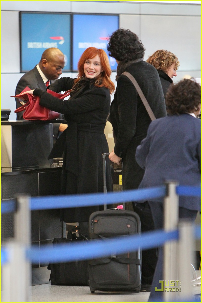 christina hendricks four eyed flight 09