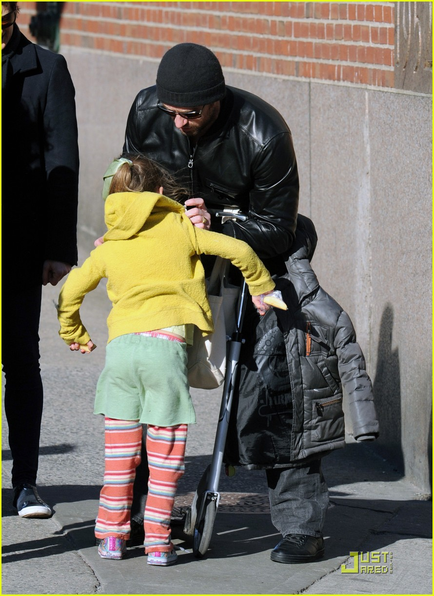 hugh jackman valentines day with ava 11