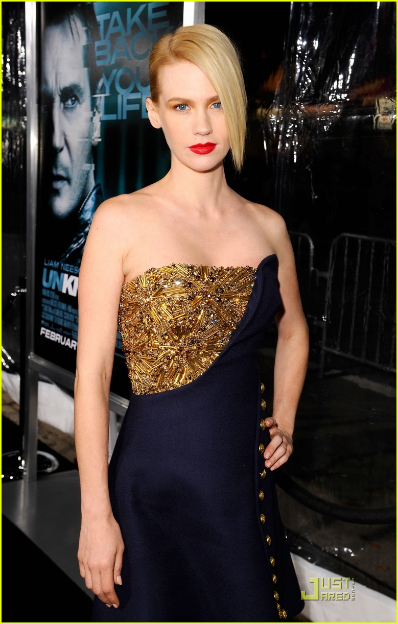 january jones unknown premiere 02