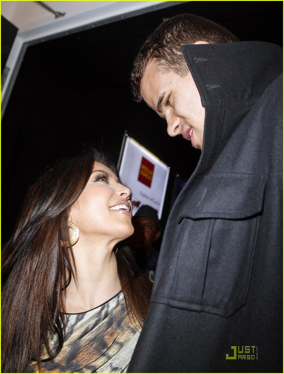 kim kardashian kris humphries all star party 09