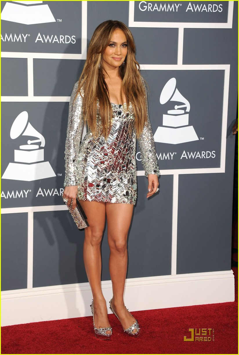 Full Sized Photo of jennifer lopez 2011 grammys 07 | photofull ...