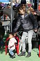 ellen pompeo petting zoo with stella 07