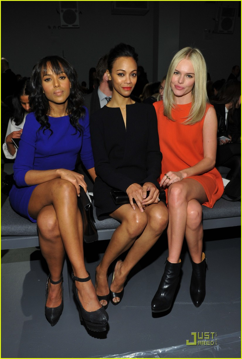 kerry washington zoe saldana calvin klein show 10