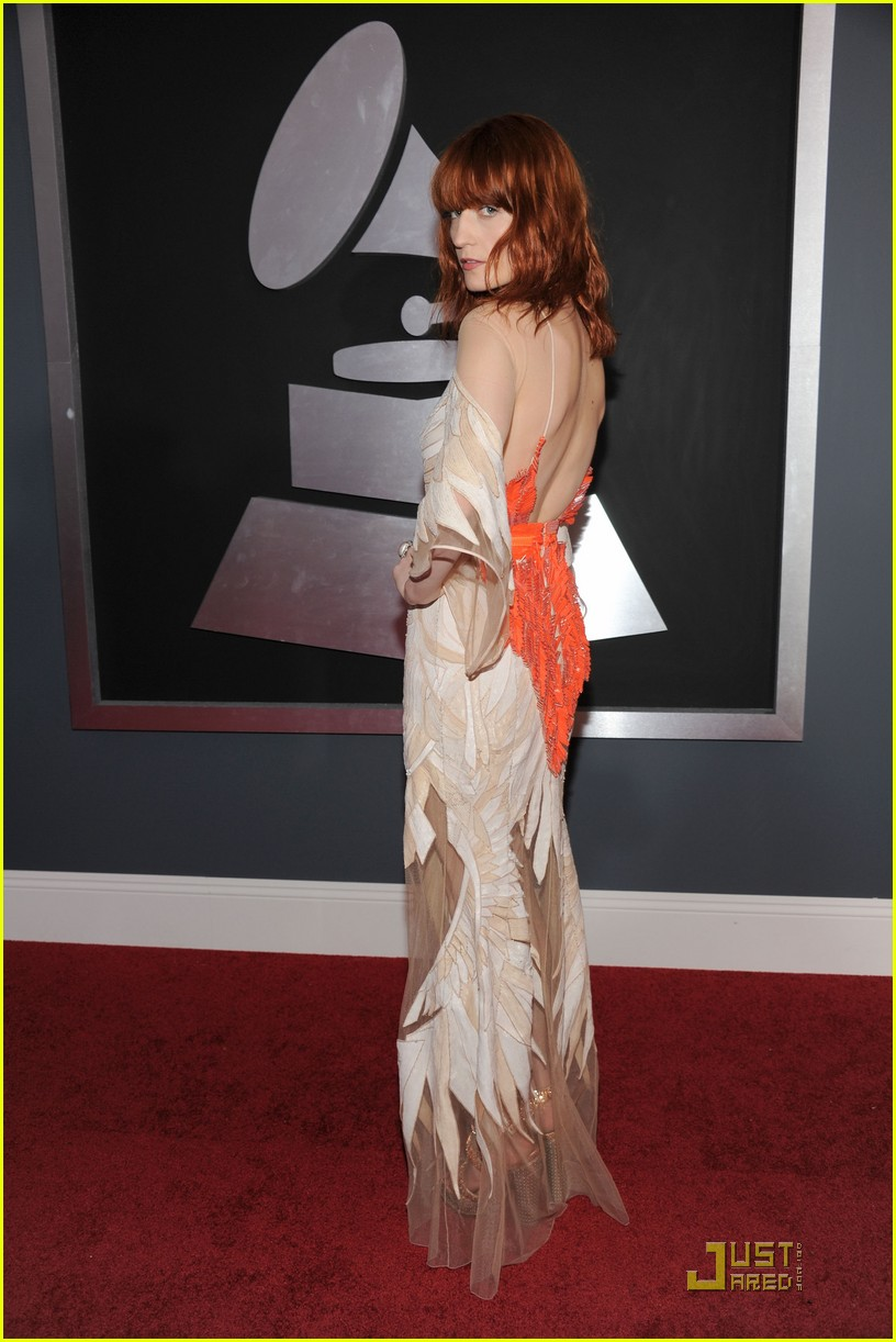 florence welch 2011 grammys 04