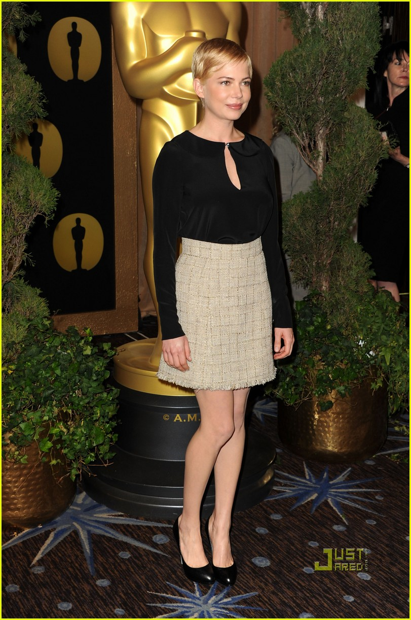michelle williams oscar nomination luncheon 06