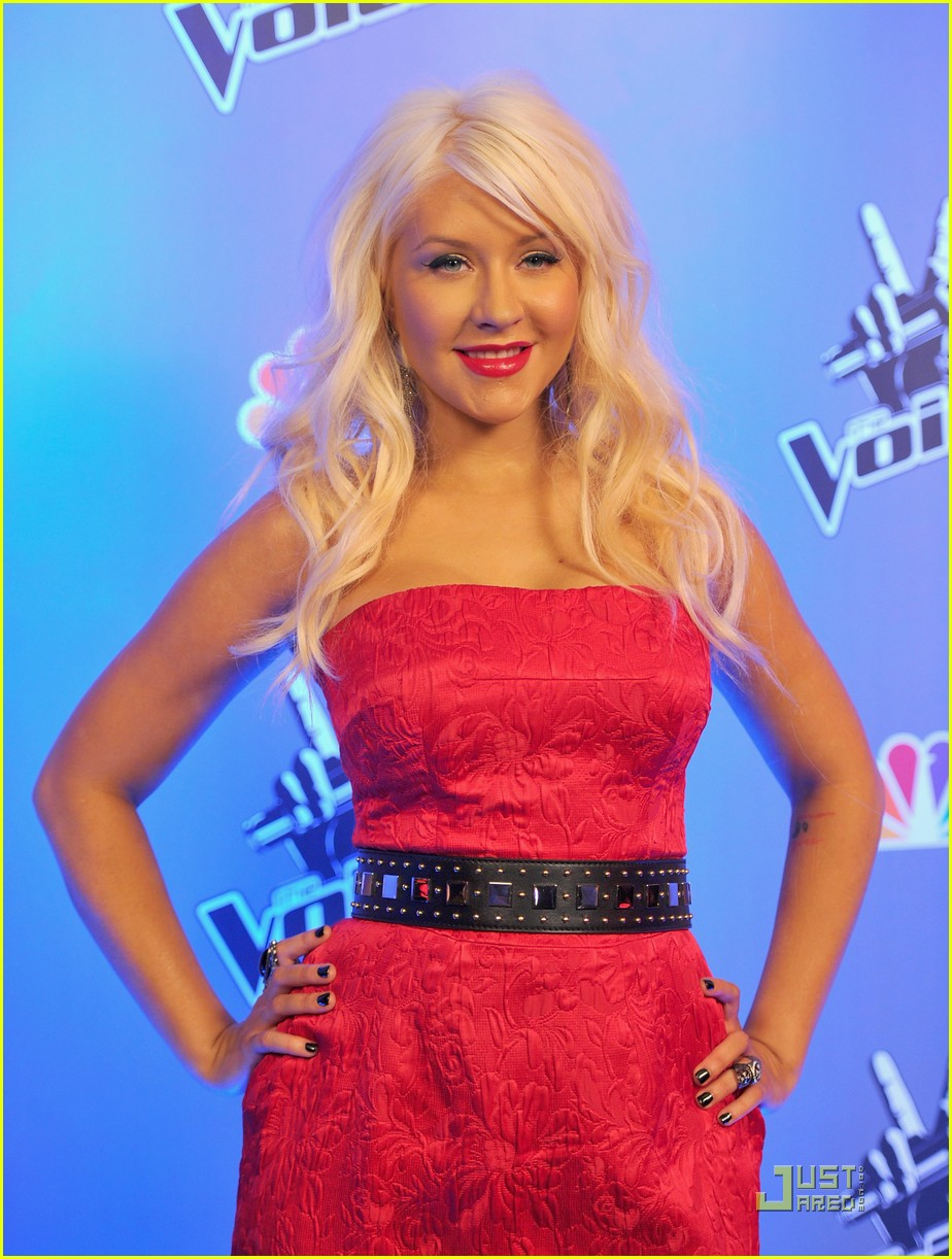 christina aguilera voice press conference 03