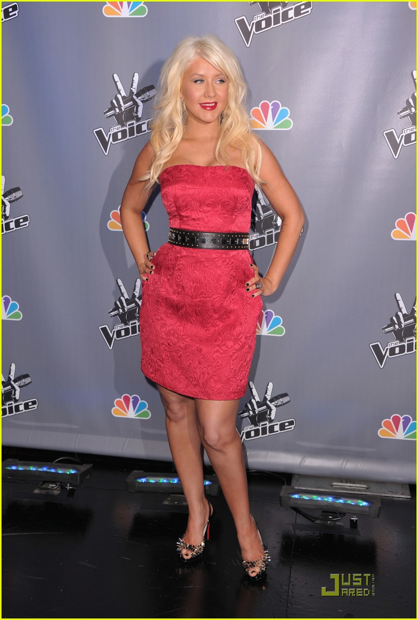 christina aguilera voice press conference 042527901