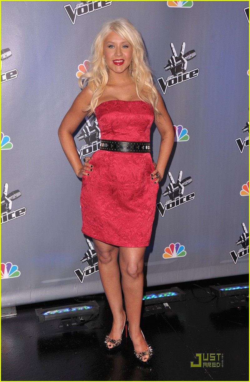 christina aguilera voice press conference 082527905