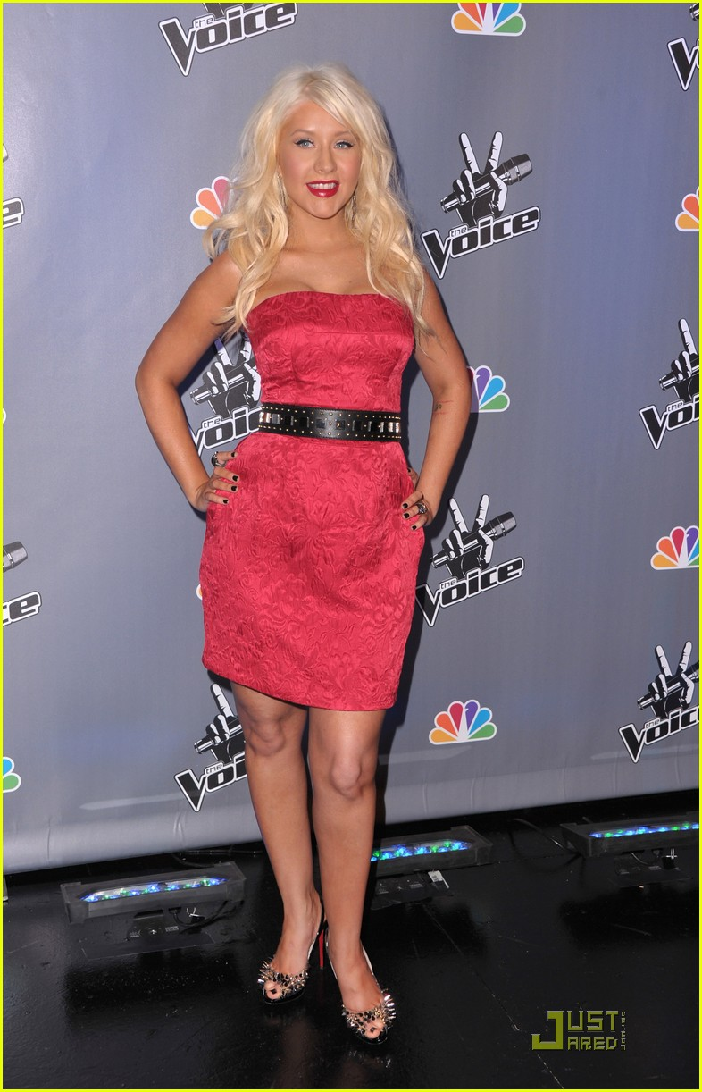 christina aguilera voice press conference 092527906