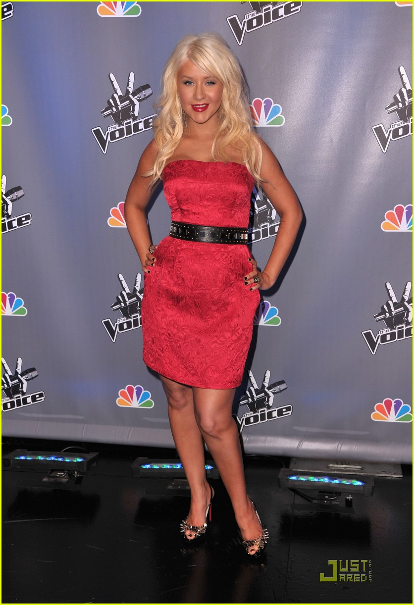 christina aguilera voice press conference 102527907