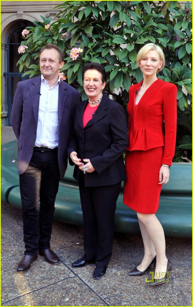 Cate Blanchett: City Talk 2011 with Andrew Upton! | Andrew Uptonupton city