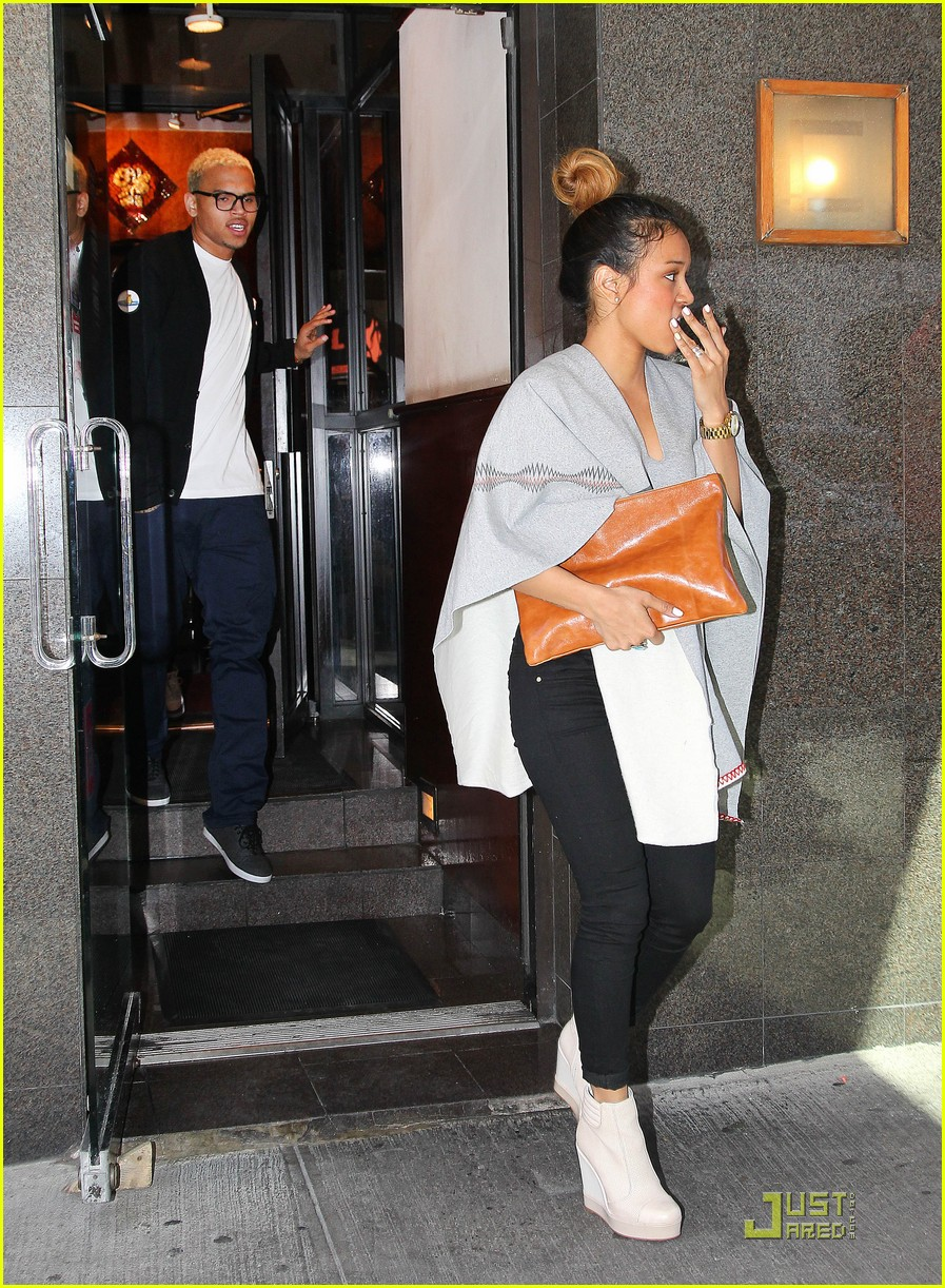 chris brown gallery gazing karrueche tran 07