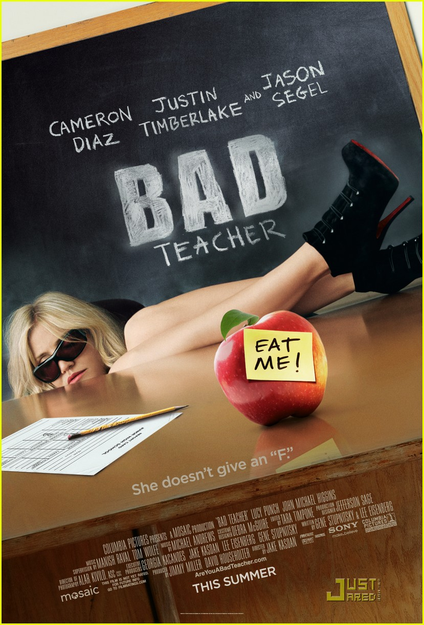 cameron diaz bad teacher poster