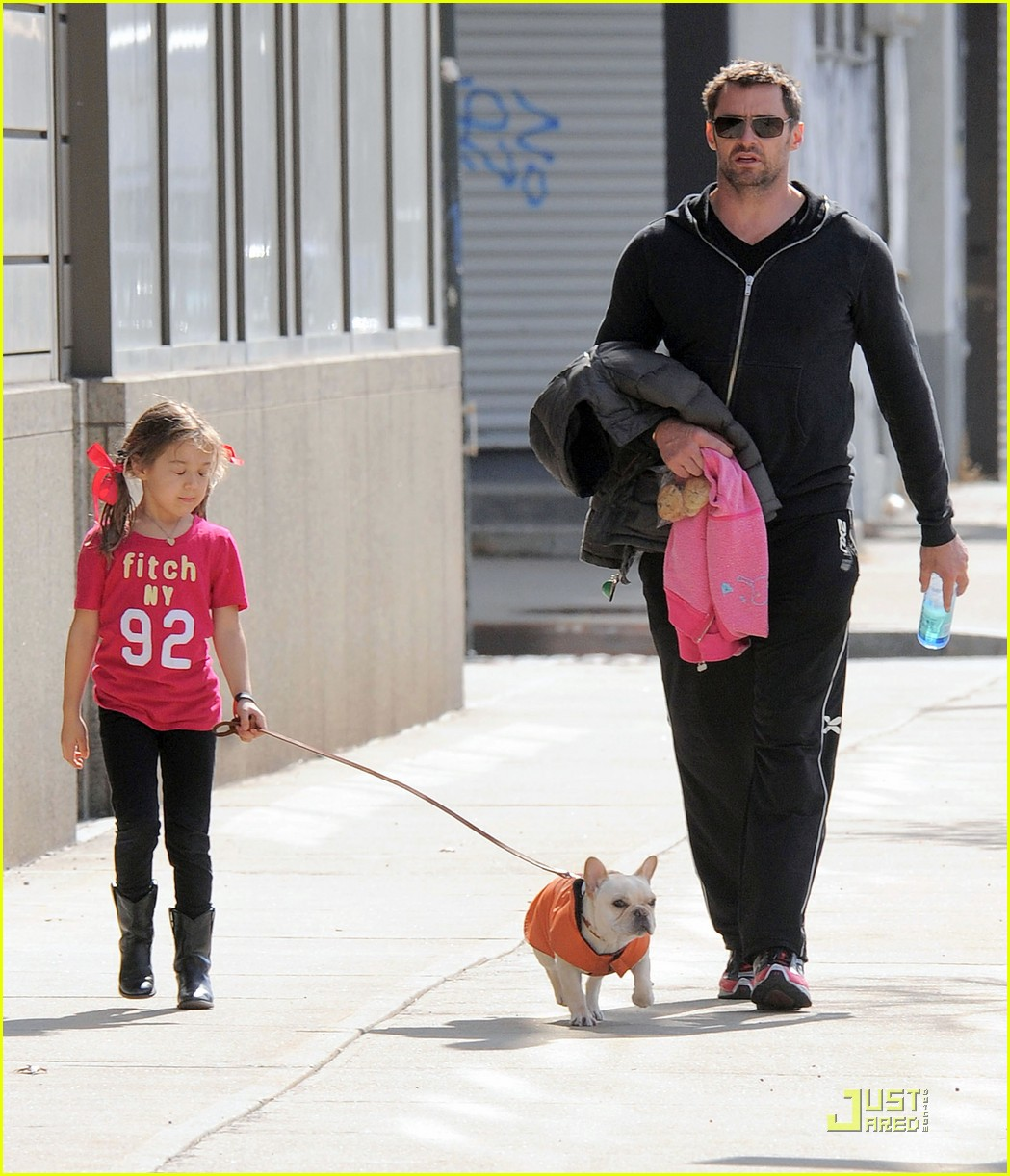 hugh jackman dog walk with ava 10