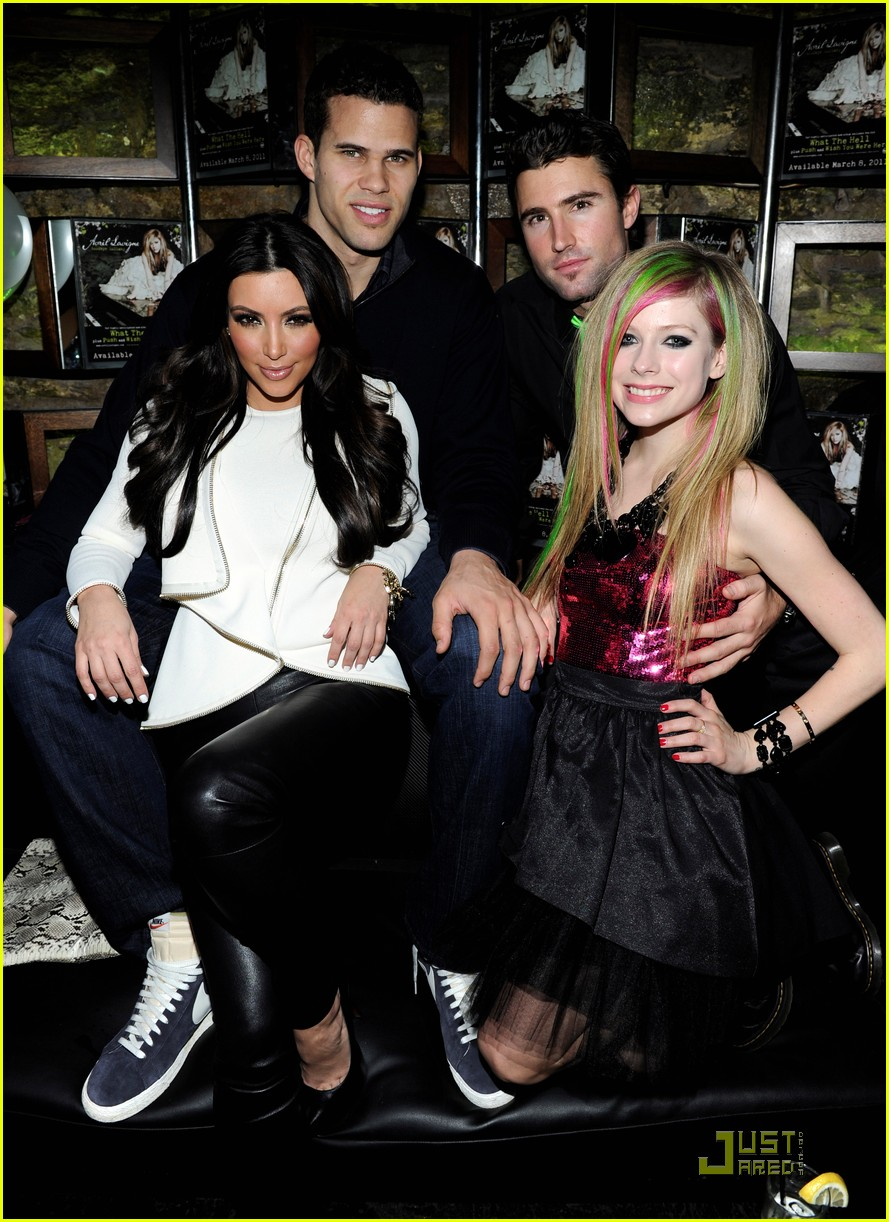 avril lavigne brody jenner album party 02