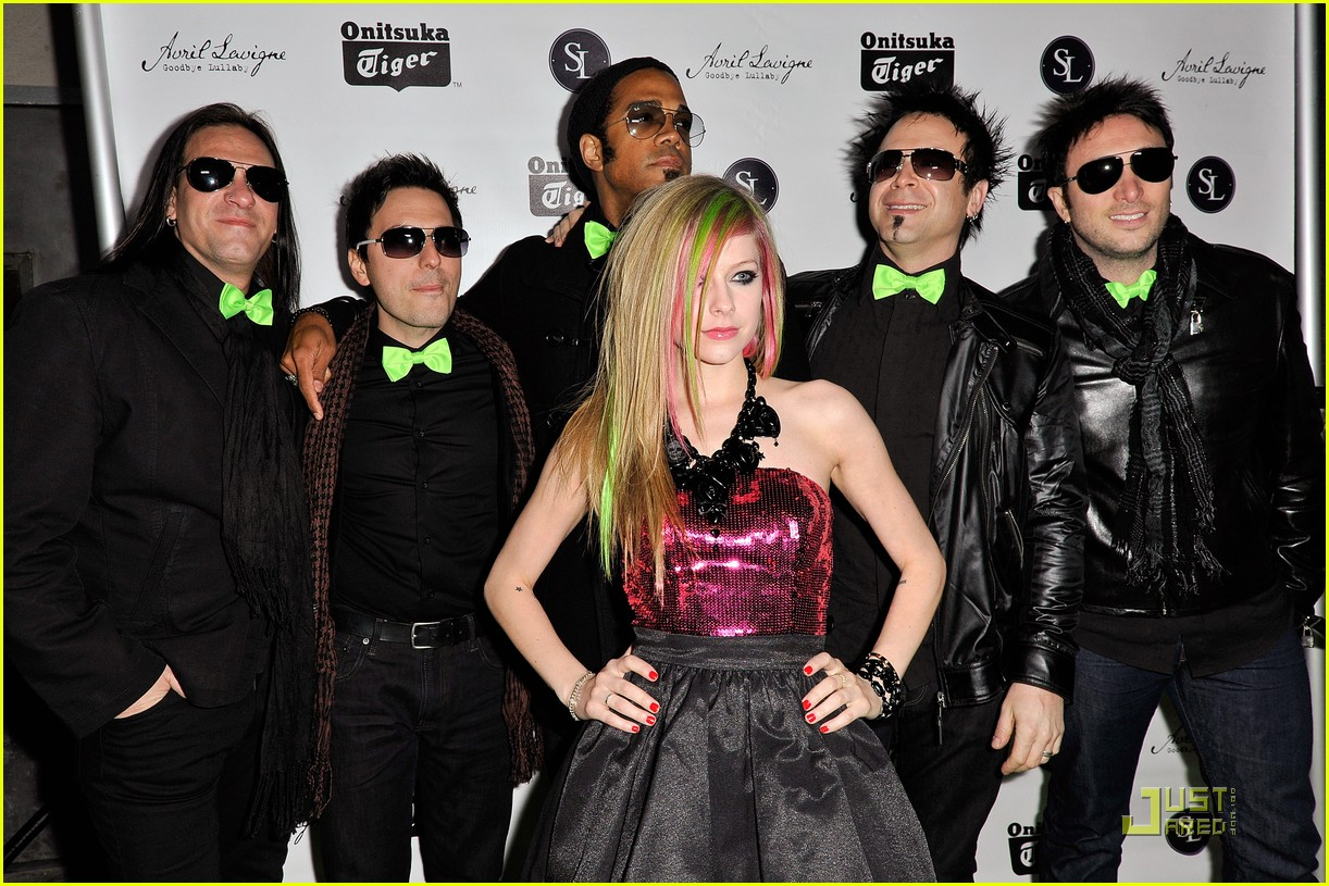 avril lavigne brody jenner album party 05
