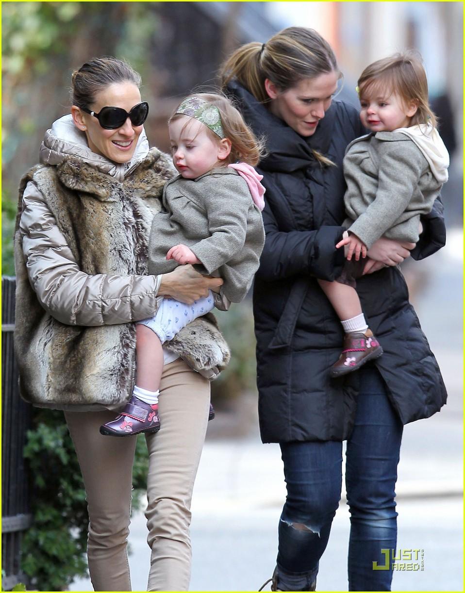 ksarah jessica parker birthday stroll twins 062530614