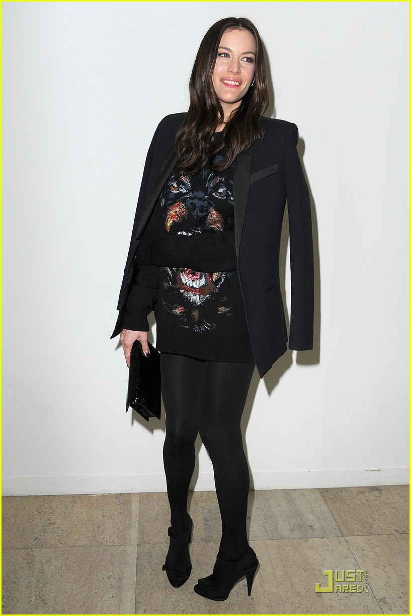 nicole richie liv tyler givenchy gals 12