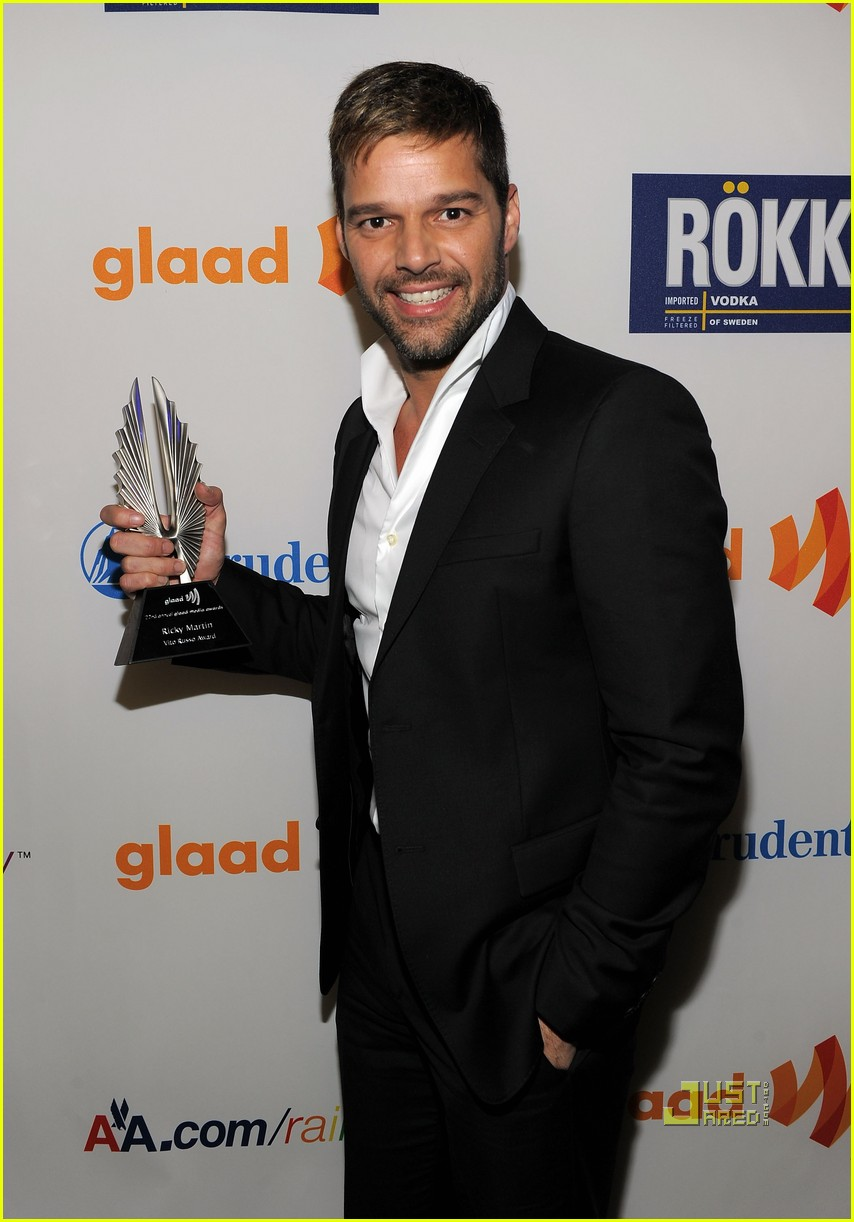 ricky martin glaad awards 04