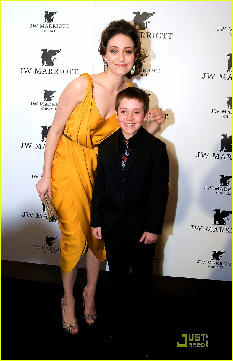 emmy rossum jw marriott chicago grand opening 05
