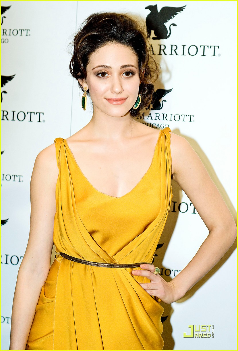 emmy rossum jw marriott chicago grand opening 15
