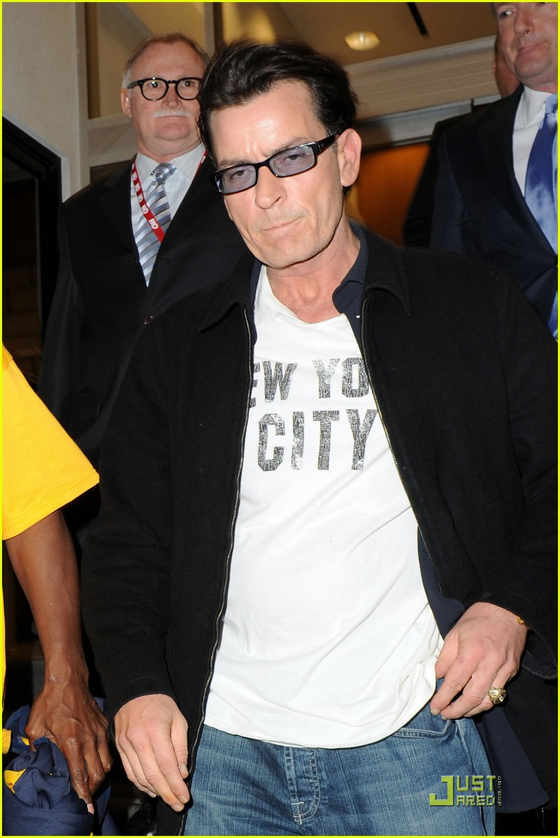 charlie sheen my motto is to enjoy every moment 01