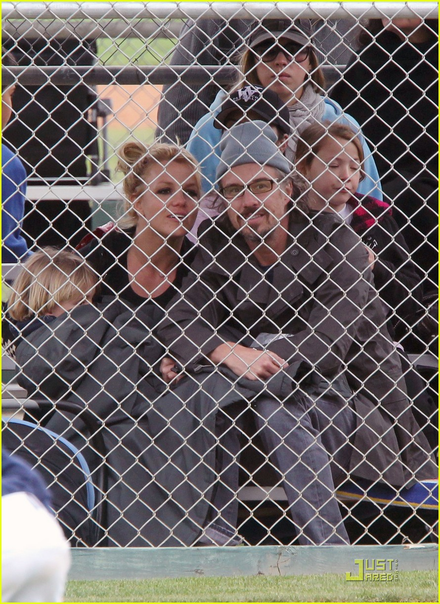 britney spears little league game  022528791