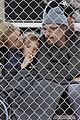 britney spears little league game  07