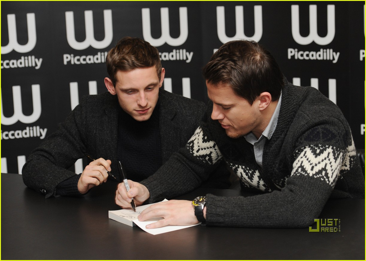 Channing Tatum: 'Eagle' Signing with Jamie Bell! Channing Tatum